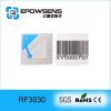 30*30mm anti theft EAS alarm 8.2mhz eas adhesive sticker label for jewelry