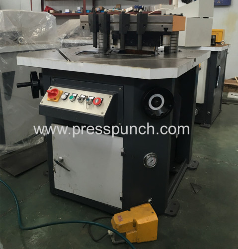 China made Hydraulic notching shearing machine