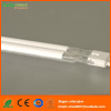 Quartz IR heating tube with white reflector