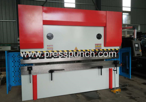 Steel metal bending 100ton 3200mm DA41 CNC press brake with bending die blade