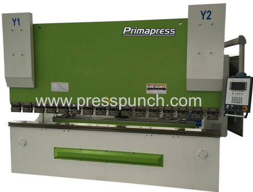 4 axis CNC Press Brake CNC Hydraulic Press Brake 125T/2500 with Delem DA52s
