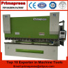 WE67Y series DA52S hydraulic press brake for 160Ton and cnc hydraulic bending machine