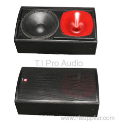 Single 12 inch woofer monitor speaker professional power stage show event activity monitor speaker sound system