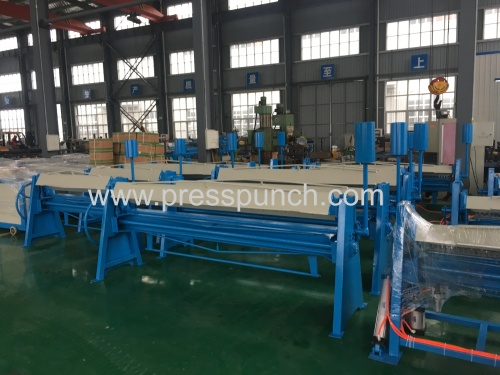 Sheet Metal TDF manual folding machine