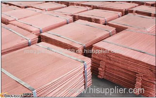 copper cathodes 99.99%-99.97% min