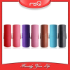 MSQ High quality PU cylinder leather cosmetic brush case