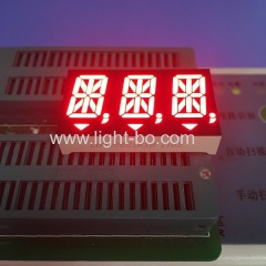 "Triple Digit 0.56"" 14 segment led display Super bright red common anode for instrument panel"