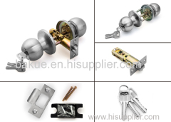 Stainless Steel Hardware Safe Door Handle Knob Ball Lock