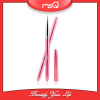 MSQ Brand Professional Single Nail Art Beauty Tool Dotting Pen Drawing Brush Pink Aluminium Handle