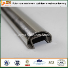 flat oval shape tube 316 stainless steel flat pipe