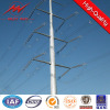 galvanized steel electric power pole for transmission line