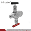 High quality competitive price instrument manifolds stainless steel 2 way valve manifold