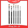 MSQ Brand 6pcs Pro Eyeshadow Makeup Brushes Set Cosemtic Black Wood Handle Make-up Pen Pincel Maquiagem