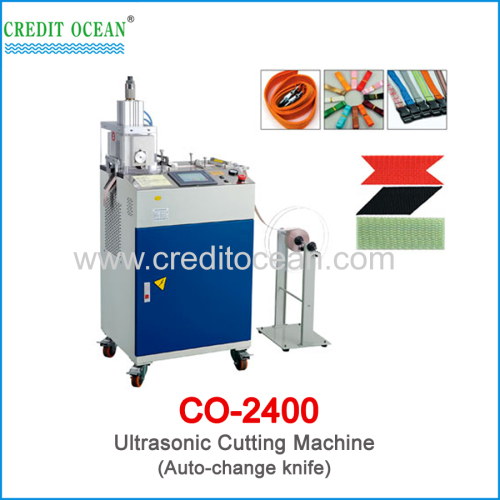 CREDIT OCEAN auto-change knife fabric ultrasonic cutting machine