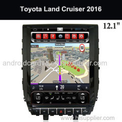 Toyota Central Multimeida Kitkat Systems Export 12.1 Inch Touch Screen Land Cruiser 2016