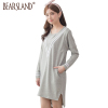 Maternity Clothes Long Nursing Dress Breastfeeding Hoodie Casual Sporty style