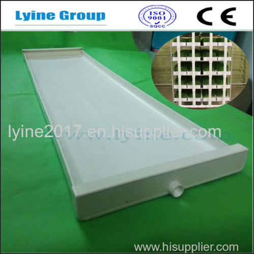Hot Sale Good Quality Plastic hydroponics Animal Fodder Growing Trays For Grass