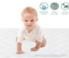 Mattress Protector Cover filled in polyester mattress topper