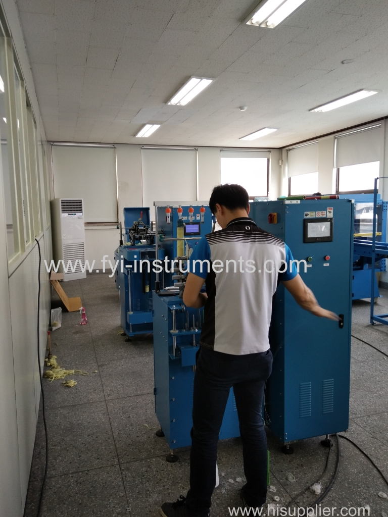 Our Korea customer bought full Lab Spinning Machine