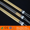 medium wave gold coating quartz heater lamps for embossing machine