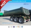 3 Axle Front Tipping or Rear Dump Semi Trailer Big Volume Dumper