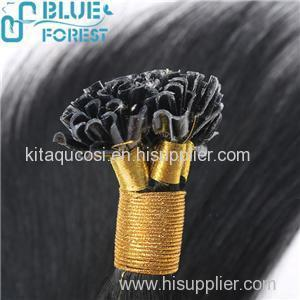 Best Selling Products Human Hair Extension Nail Tip Hair Extensions
