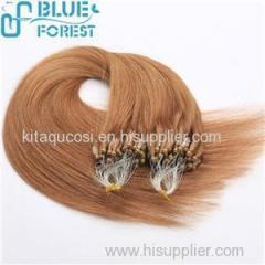 Factory Wholesale Cheap Price Virgin Straight Brazilian Micro Ring Loop Hair Extensions