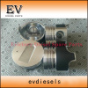 For Excavator engine S3L S3L2 piston and piston ring