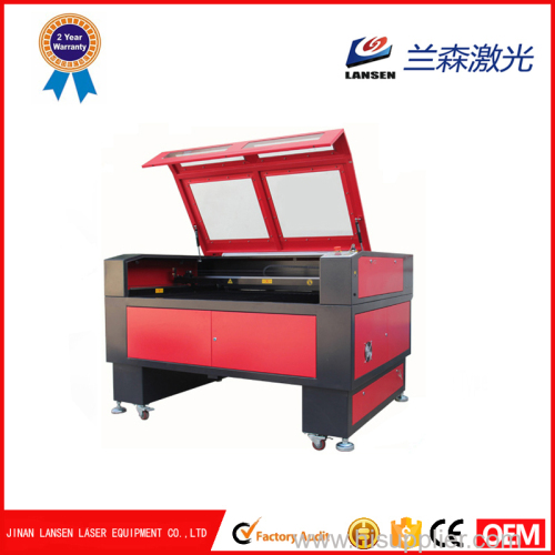 1390 CO2 laser cutting machine for 20mm Acrylic and engraving with Reci Tube
