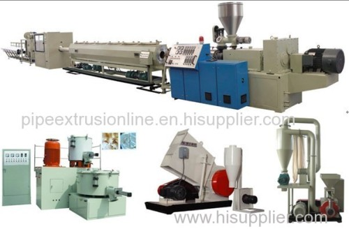 PVC Pipe Extrusion Line - PVC Water Pipe Extrusion Line