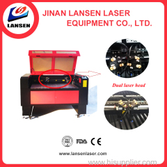 Multi-heads high efficiency the laser engraver laser cutting engraving machine