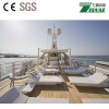 PVC Teak flooring /synthetic teak used for outdoor boat deck covering