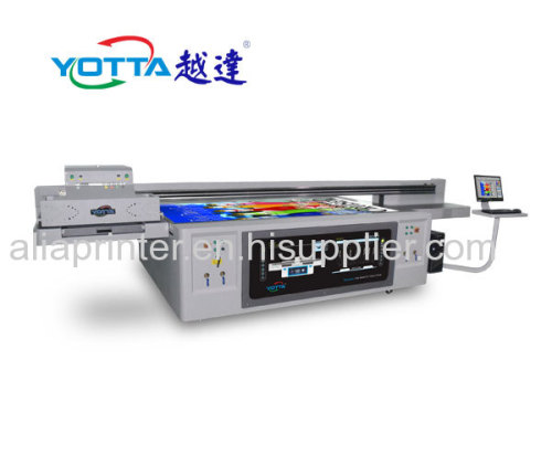 New design 2513 size aluminum board uv led large flatbed printer