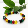 2017 Cut-Surface Colorful Bead Bracelet for Women Fashion Jewelry