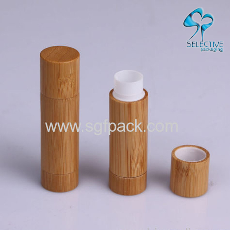 Fresh China Bamboo cosmetics packaging Containers, Bamboo cosmetics case  QW77