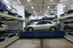 PXD horizontal lane stacker parking system