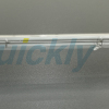 Shortwave clear tube infrared light heating