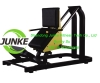 HACK SQUAT FREE WEIGHT PLATE LOADED MACHINE COMMERCIAL GYM USED MACHINE