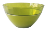 2 in 1 two tone/color/layer double injection plastic salad bowl