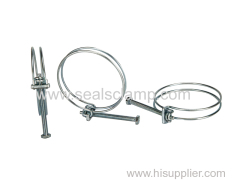 double wire hose clamps products