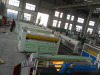 PC center hollow grid sheet production line PC grid sheet extrusion line