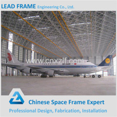 Flexible Design Prefab Structural Steel Beam Steel Constructed Aircraft Hangar