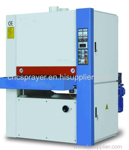 Precise Calibrating wide belt Sanding Machine for wood panel