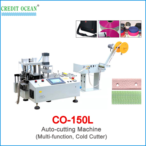 CREDIT OCEAN auto belt cutting machine with hot cutter