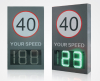 LED Radar Speed Limit Sign Radar Speed Limit Warning Sign