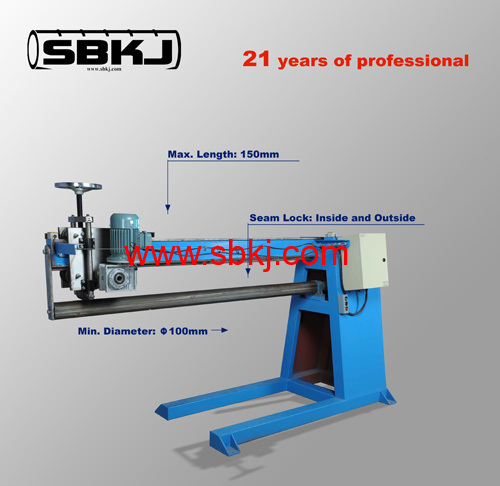 round seam closing machine