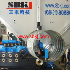 Spiral Flexible aluminum duct making machine