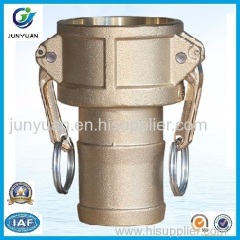 Brass Camlock Coupling part C