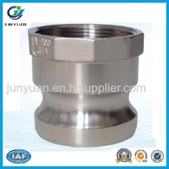 STAINLESS STEEL CAMLOCK COUPLING PART A