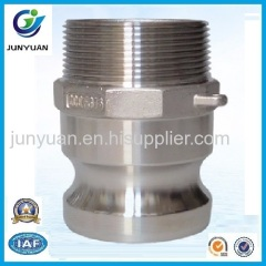 STAINLESS STEEL CAMLOCK COUPLING PART F